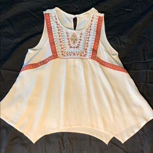 Montreal sleeveless shirt